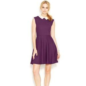 Betsey Johnson Sleeveless Dress w/ Pearl Collar
